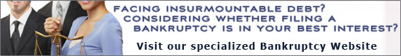 Visit our specialized bankruptcy website